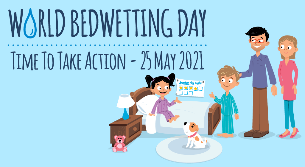 World Bedwetting Day. Time to take action – 30th May 2017